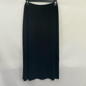 George PLUS SIZE 22W/24W Black Maxi Skirt R-50